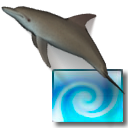 Desktop Dolphins 3D Screen Saver For Mac
