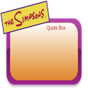The Simpsons Quote Box for Mac