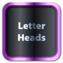 Letterheads for Adobe InDesign for Mac
