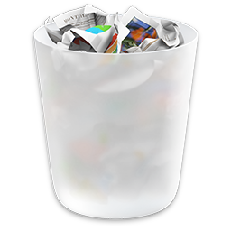 OS X Yosemite Trash Icon