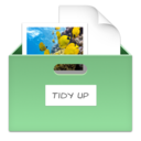 Tidy Up is part of managing your files