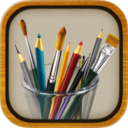 MyBrushes is part of saving time with photos