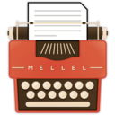Mellel is part of writing a book