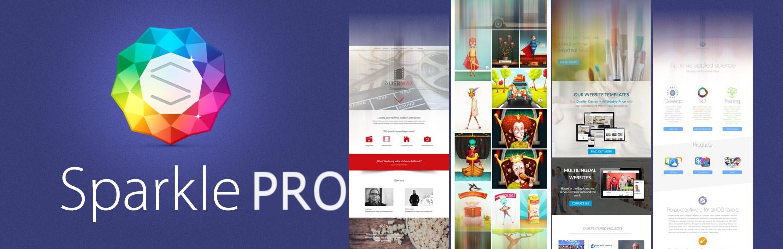 sparkle visual website creator