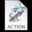 Add Google Analytics Action icon