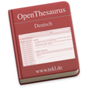 OpenThesaurus Deutsch 2017.01.13
