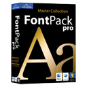 Logo for Font Pack Pro - Master Collection