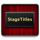 StageTitles 1.5.0