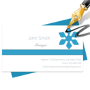 Blue Penguin Business Card Designer 2.30