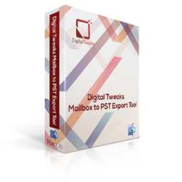 Logo for Digital Tweaks Mailbox to PST Export Tool