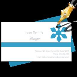 Blue penguin business card designer 30 free download for mac business card designer colourmoves