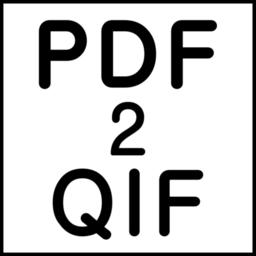 PDF2QIF
