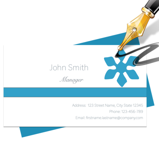 Blue Penguin Business Card Designer 30 Free Download For Mac